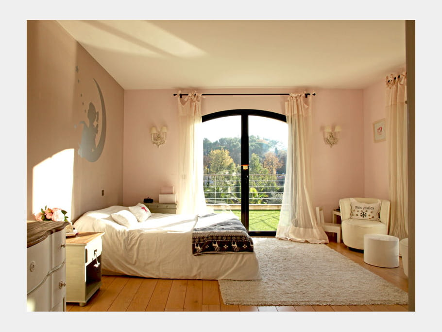 Rose poudr id es d co pour chambres d 39 enfant croquer - Chambre rose poudre ...