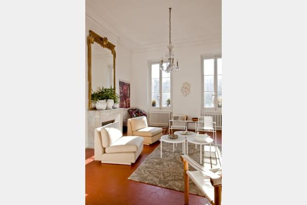 Du mobilier blanc design