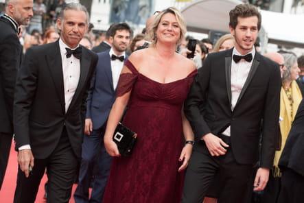 Paul Belmondo, sa femme Luana et son fils Alejandro