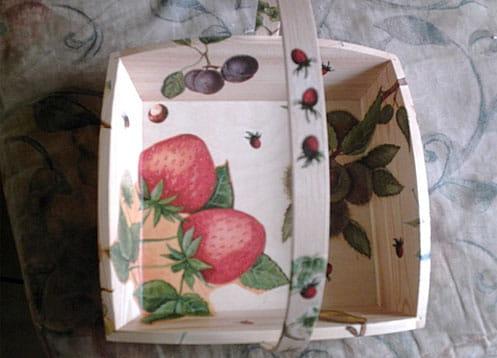 Panier à fruits