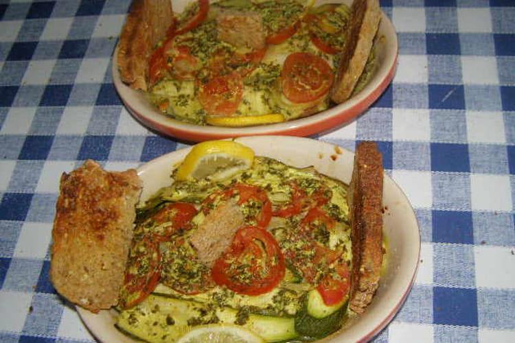 Filets de cabillaud avec sauce au curry