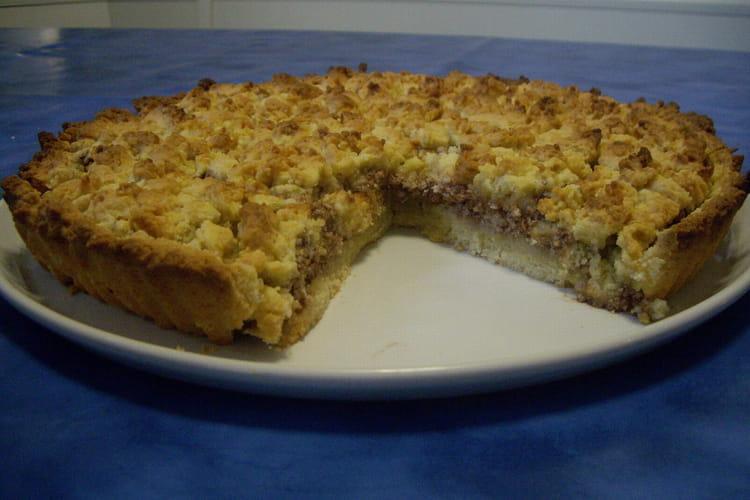 Sbriciolata toscana (tarte ricotta et chocolat)