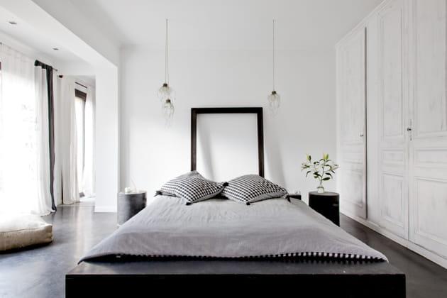 Chambre contemporaine et élégante