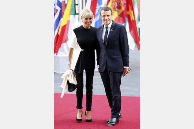 Brigitte Macron le 7juillet 2017