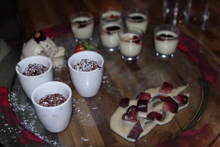 Trilogie de desserts