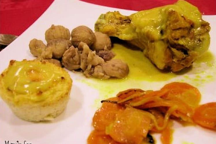 Blanquette de dindonneau au curry