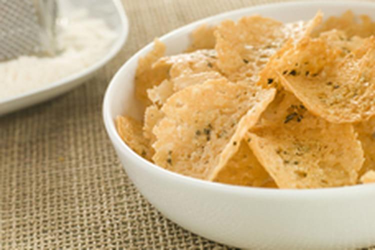 Chips de parmesan