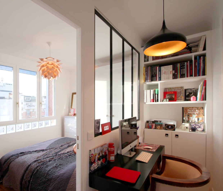 une verri re pour diffuser la lumi re. Black Bedroom Furniture Sets. Home Design Ideas