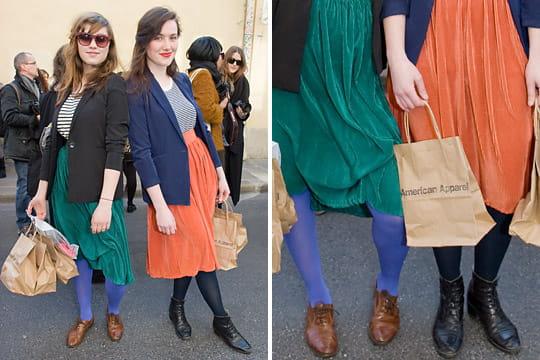 Fashion week : les street looks des défilés parisiens PAP automne-hiver 2011-2012 54