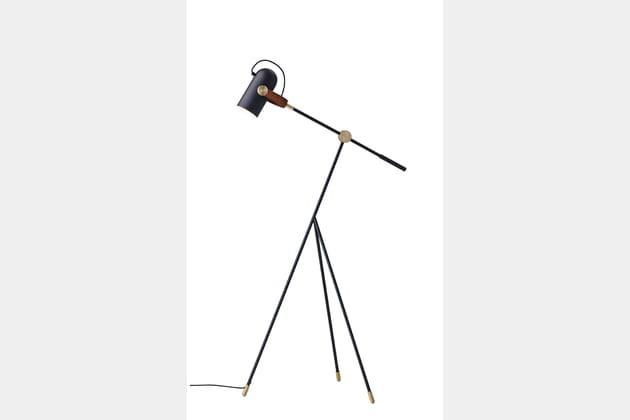 Le lampadaire industriel oeuvre d'art