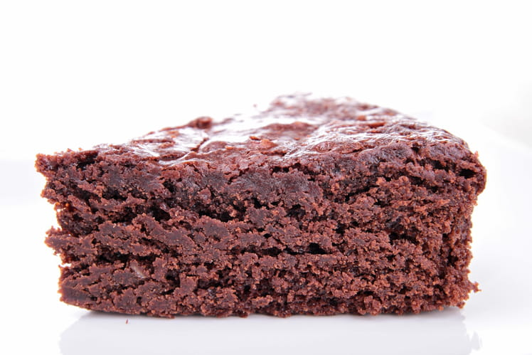 Tarte au chocolat sans p te - Tarte au chocolat sans oeuf ...