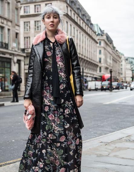 La maxi robe à fleurs