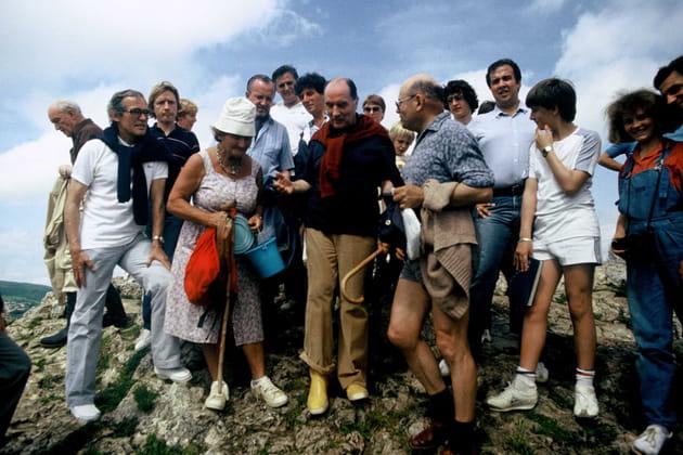 Randonnée a Solutre le 8 juin 1981