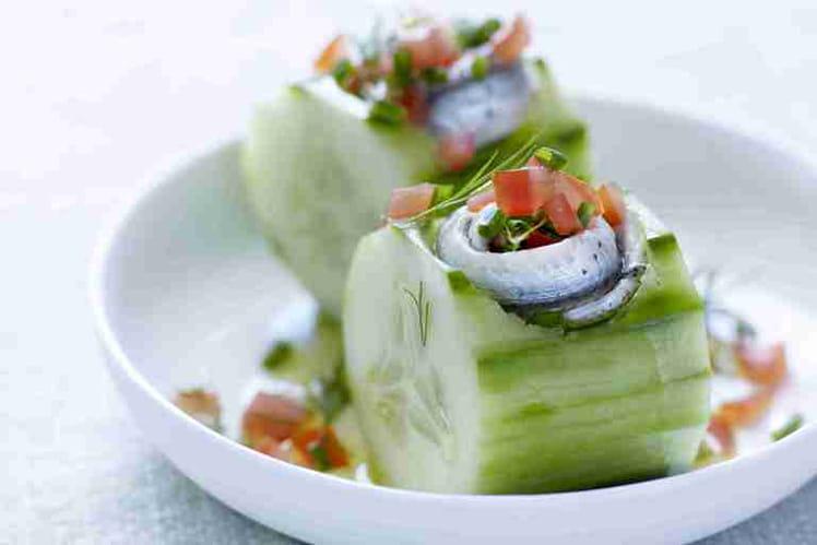 Bouchées apéritives aux sardines