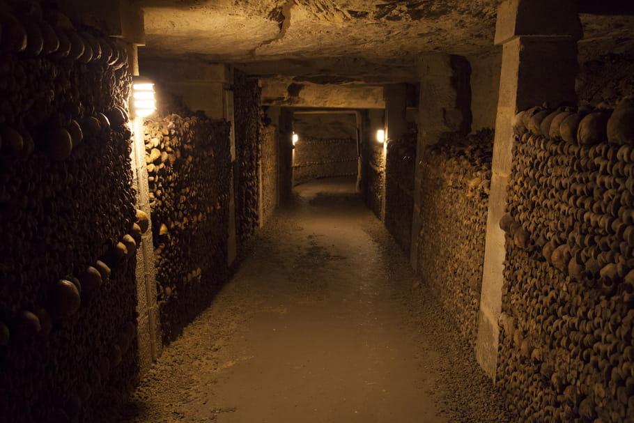 Une soirée télé au fond des Catacombes