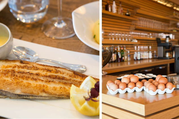 L'Aloze, la brasserie chic pour les déjeuners