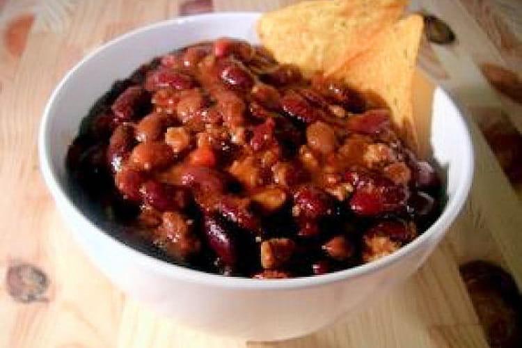 Chili con carne convivial