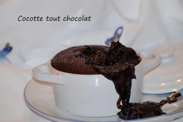 Cocotte tout chocolat