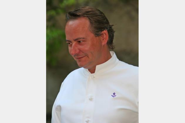 Jean-Christophe Ansanay-Alex, chef de l'Auberge de l'Île Barbe