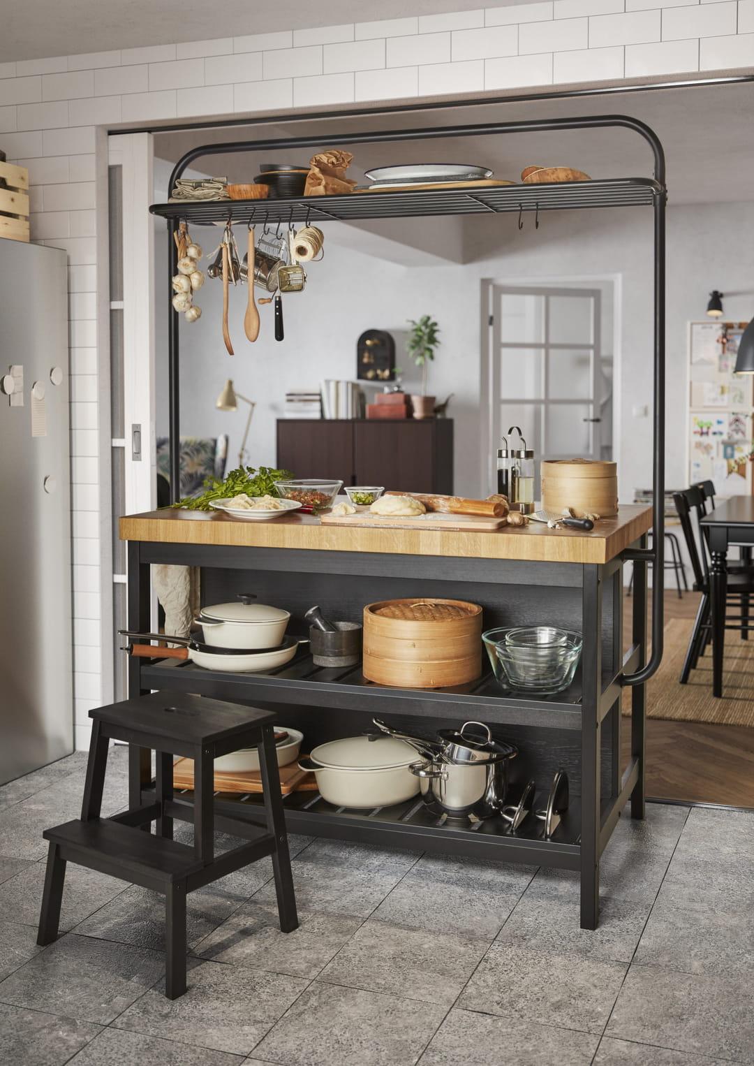 separer-cuisine-et-salon-avec-un-meuble-d-appoint