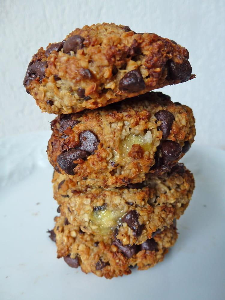 recette de cookies moelleux chocolat banane vegan la recette facile. Black Bedroom Furniture Sets. Home Design Ideas