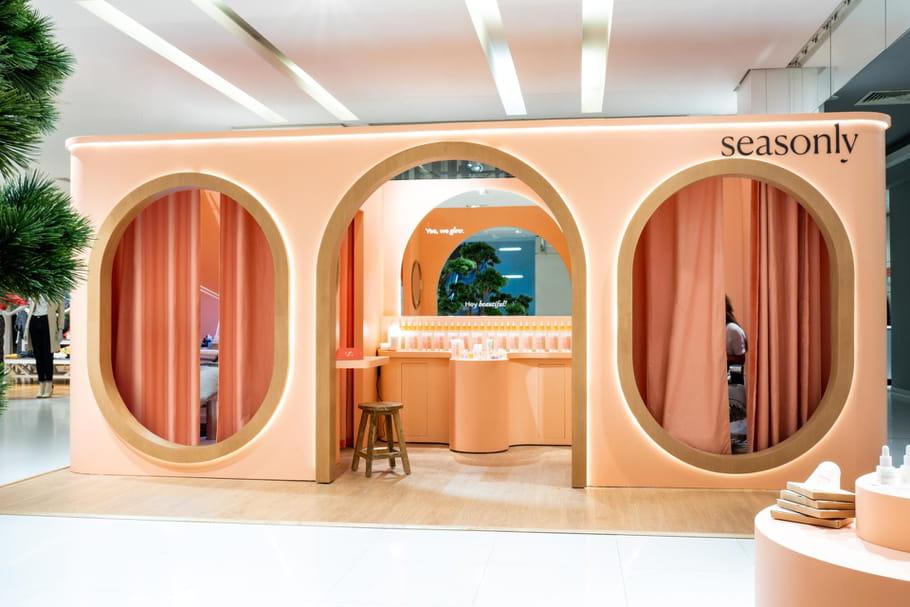 Seasonly ouvre un Skin Studio aux Galeries Lafayette Paris Haussmann