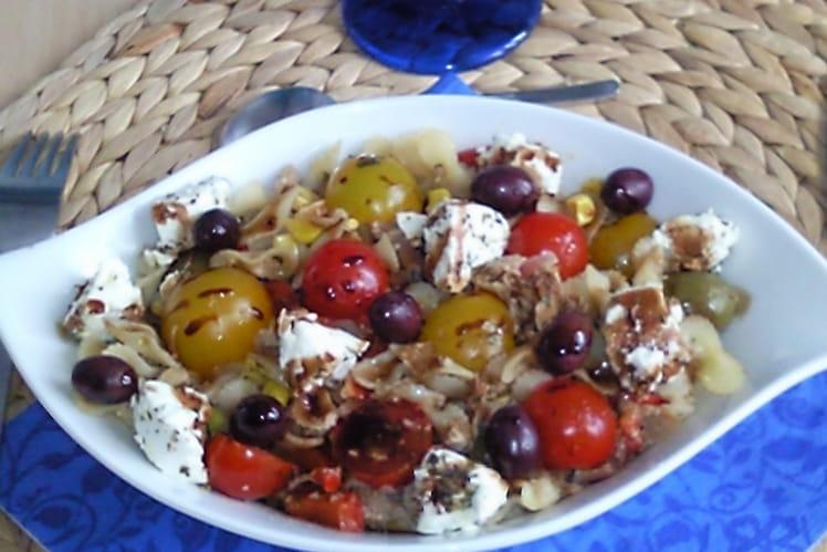 Salade de la garrigue