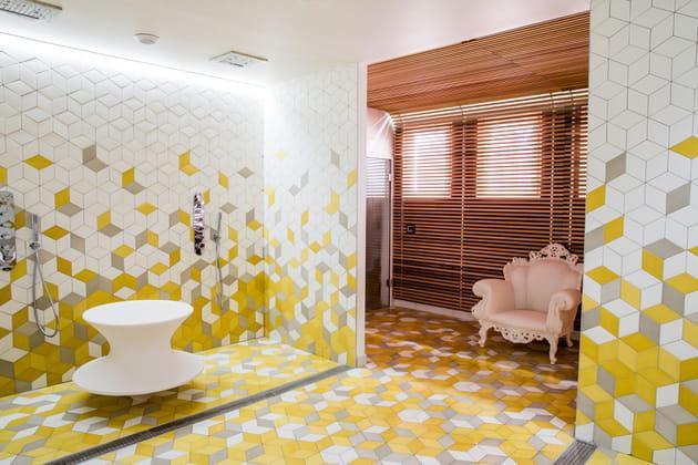 Les espaces sauna et hammam