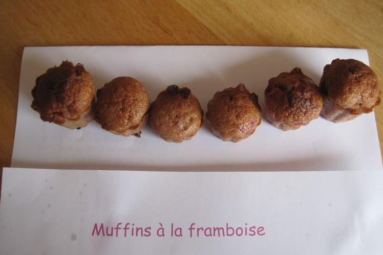 Mini-muffins à la framboise