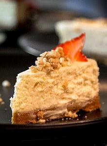 cheesecake maras des bois