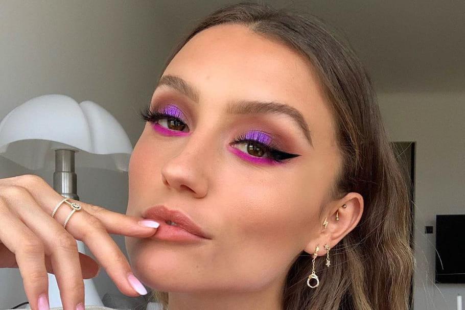 Tuto maquillage coloré: le fluo et les couleurs pop nous font de l'œil