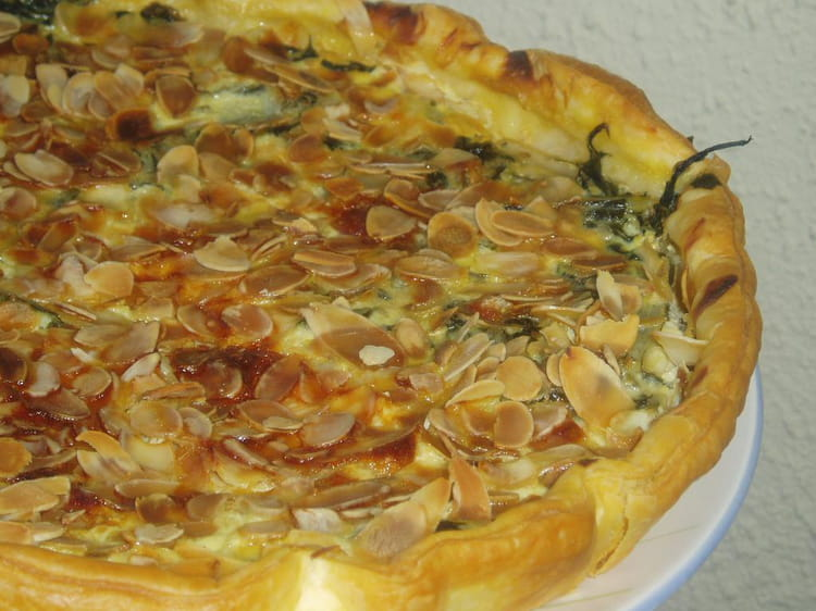 Recette de tarte aux feuilles de blettes la recette facile - Cuisiner blettes feuilles ...