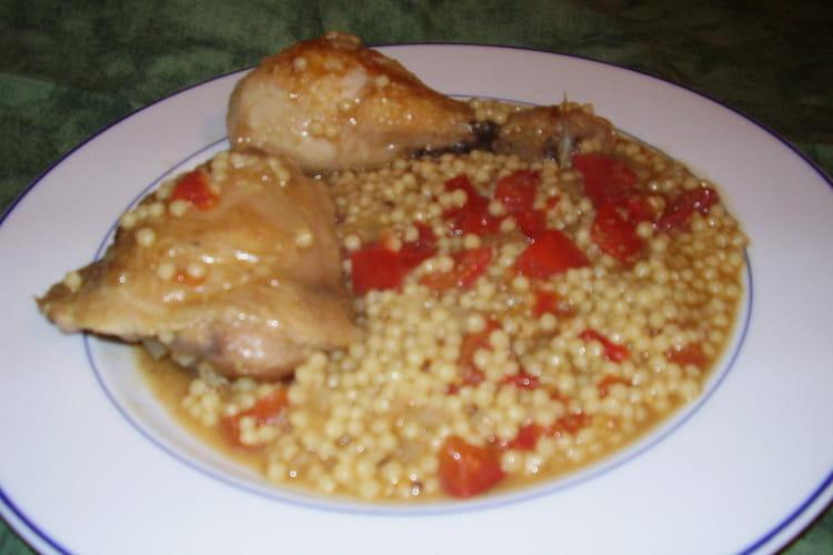 Aïch au poulet et au cumin