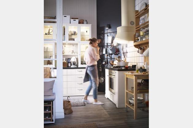 La cuisine Metod Hittarp d'IKEA