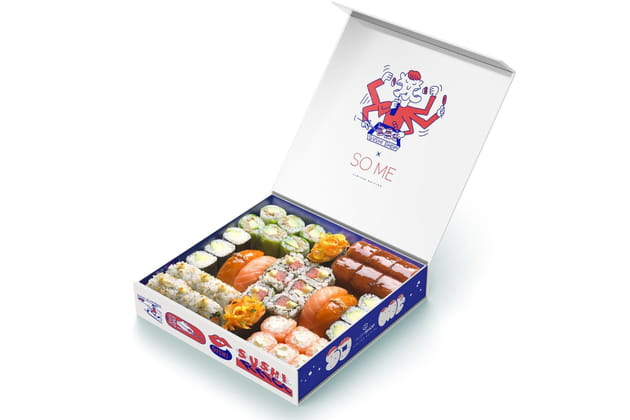 La box So Me de Sushi Shop