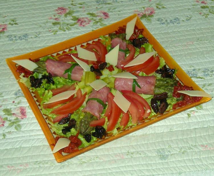 Recette de salade compos e asperges bacon la recette facile - Salade verte composee ...