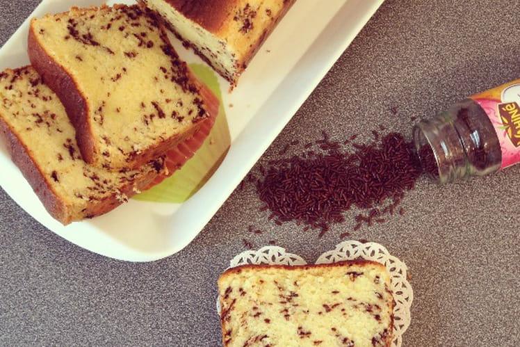 Cake aux vermicelles chocolat