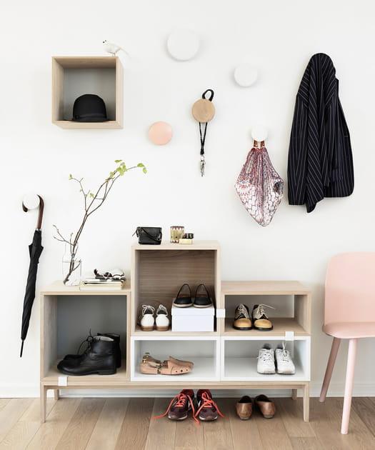 Nos inspirations pour le rangement ses chaussures avec style, c'est le pied!