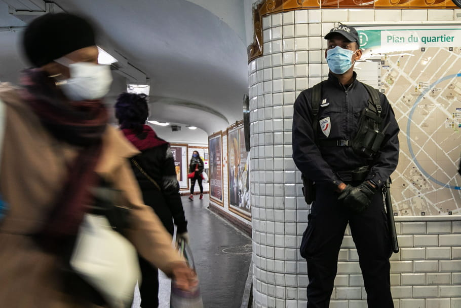"""Reprise RATP: Des caméras """"intelligentes"""" vérifient le port du masque, 100% du trafic fin mai..."""