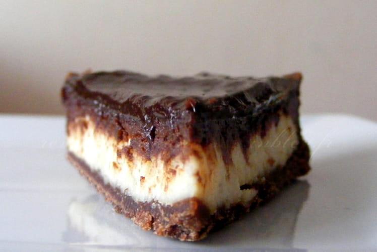Tarte au chocolat, pamplemousse et amandes