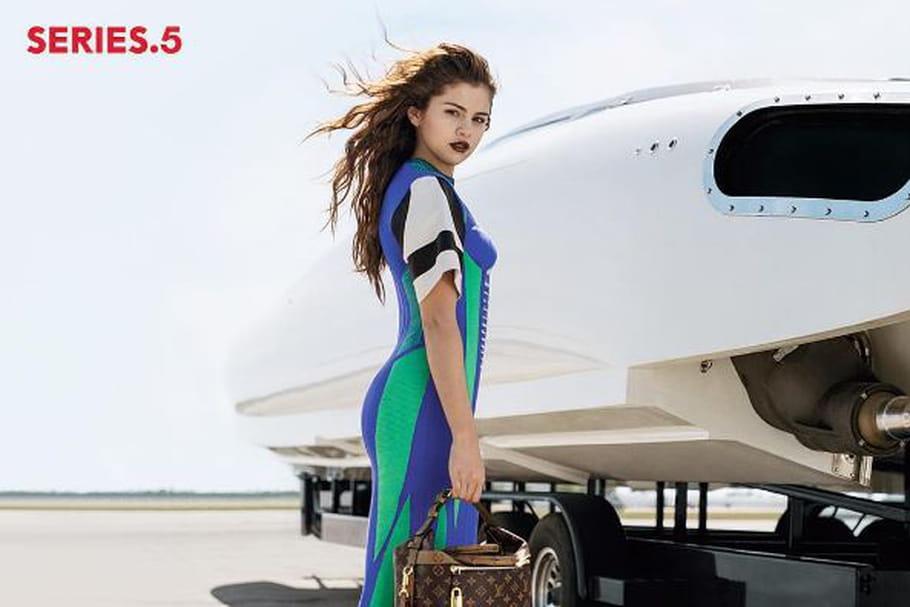 Louis Vuitton et sa nouvelle campagne incarnée par Selena Gomez
