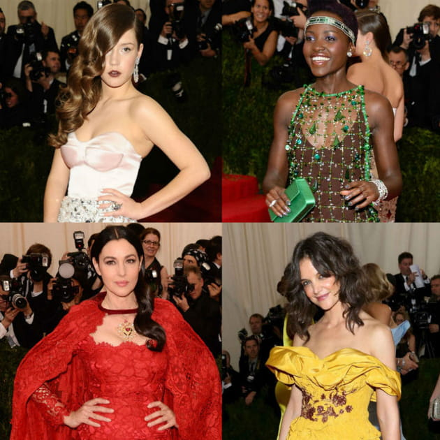 Met Ball 2014 : Stars et glamour sur tapis rouge