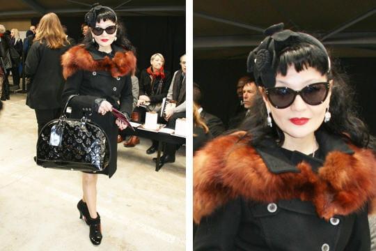 Fashion week : les street looks des défilés parisiens PAP automne-hiver 2011-2012 23