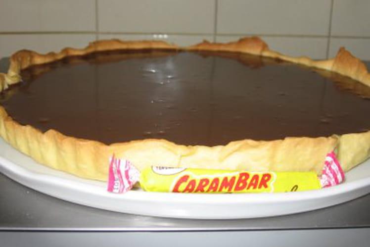 Tarte aux Carambar sans œufs