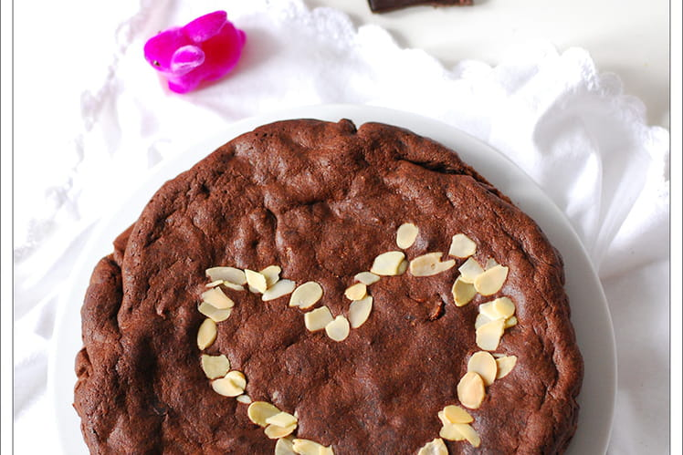 Moelleux chocolat sans sucres et sans farine