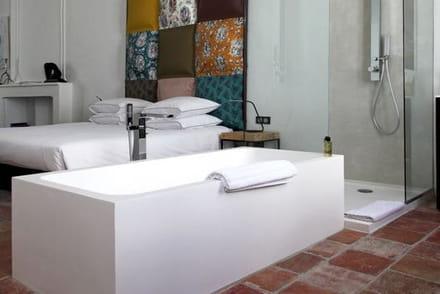 comment faire une salle de bains ouverte sur la chambre