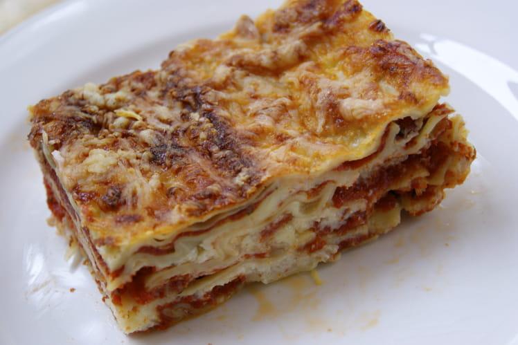 Lasagnes à la bolognaise faciles et rapides