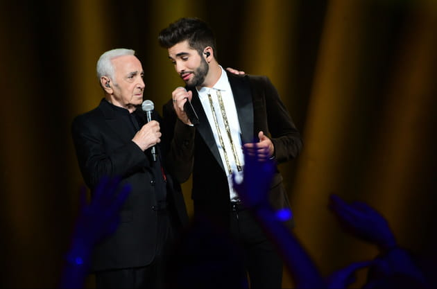 Duo de choc avec Charles Aznavour