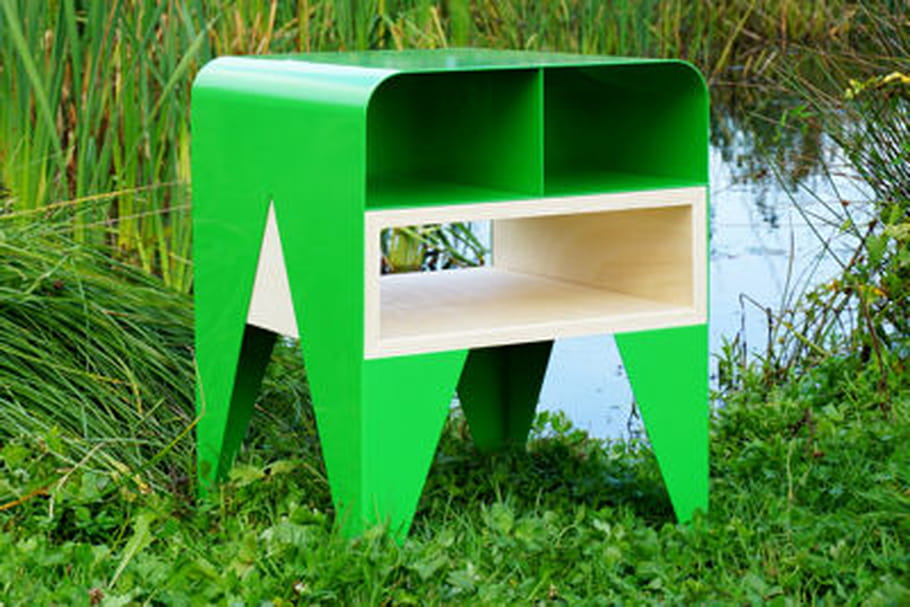 Table d'appoint Frog du studio Nab Design