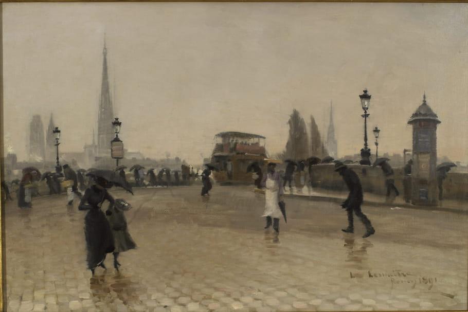 Léon-Jules Lemaître ou l'amour de Rouen au Musée des Beaux-Arts
